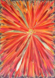 Fire Blossom - Sylvia Annau